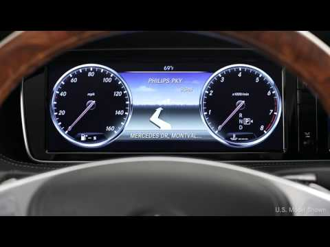 How To: 2015 S-Class Instrument Cluster - Mercedes-Benz Canada Owners Support