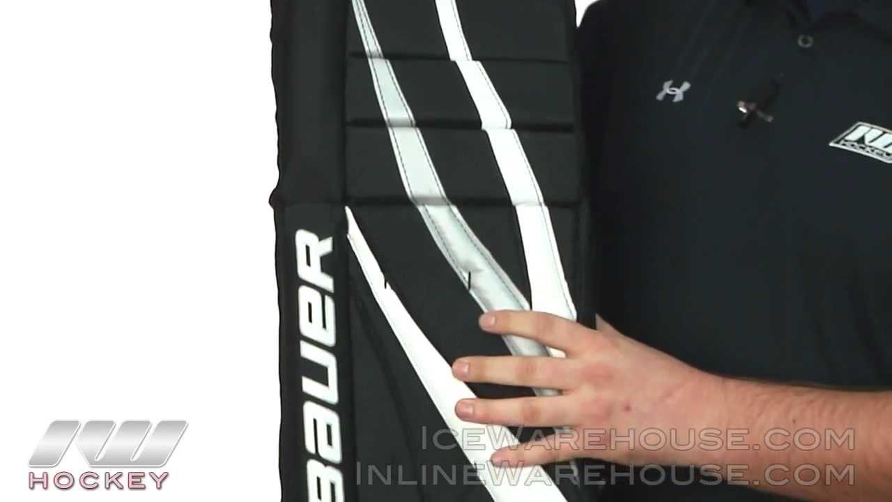 Bauer Reflex Street Goalie Leg Pad Youtube