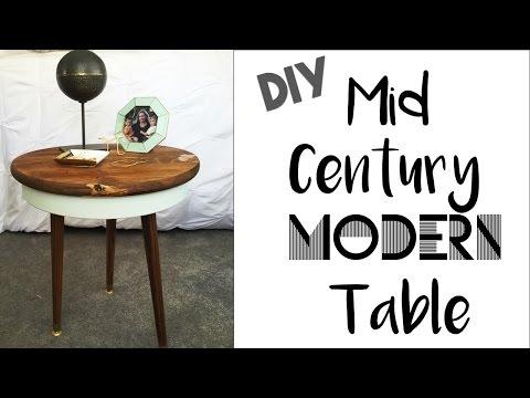 Mid Century Modern Table DIY