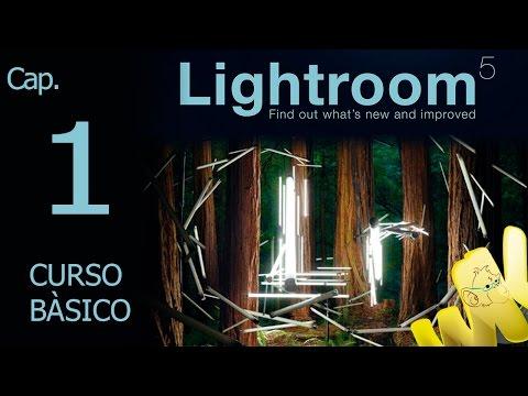 Adobe Lightroom 5, Tutorial inicio y descarga del programa, Curso basico español ...