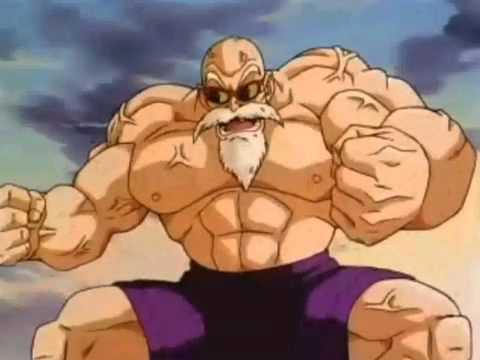 Dragon Ball Master Roshi's Kamehameha Wave