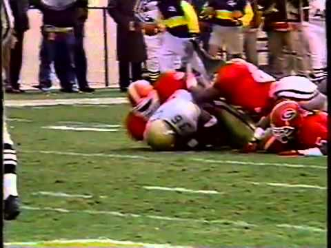Georgia vs  Georgia Tech 1995