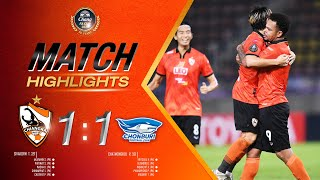 Match Highlights | Singha Chiangrai United [4] 1  - 1 [3] Chonburi FC | Chang FA Cup 2020