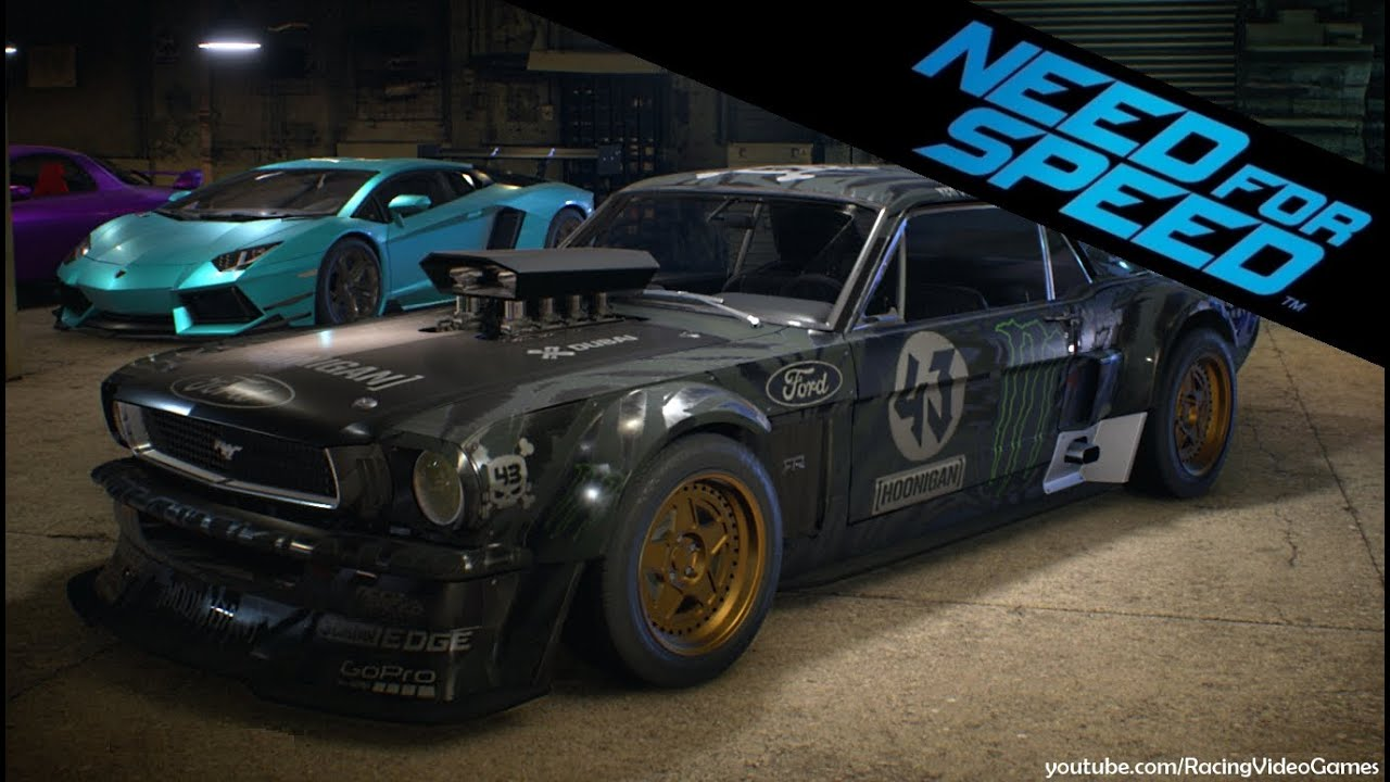 need for speed 2015 ken block 39 s hoonicorn ford mustang 1965 gameplay icons update ps4. Black Bedroom Furniture Sets. Home Design Ideas