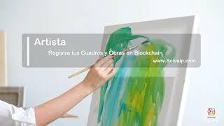 Artista   Registra tus Cuadros y Obras en Blockchain   www.Solvaip.com