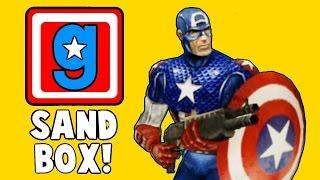 Garry's Mod (Перевод) #1 - Капитан Америка, Кулинарное Шоу, Метеоритный Дождь.