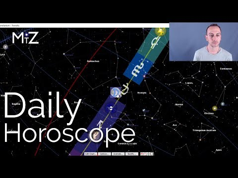 Daily Horoscope Monday August 20th 2018 - True Sidereal Astrology