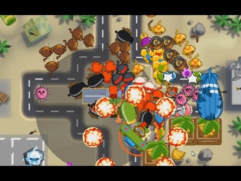 NEW GAME  On Bloons TD5 Deluxe