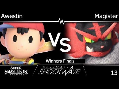 USW 13 - TLOC | Awestin (Ness) vs HNTI | Magister (Incineroar) Winners Finals - SSBU