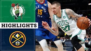 Celtics Vs. Nuggets Highlights | November 22, 2019 | NBC Sports Boston