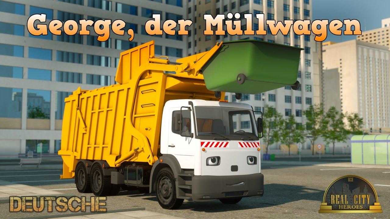 George, der Müllwagen - Real City Heroes (Echte Helden der Stadt) - Videos für Kinder