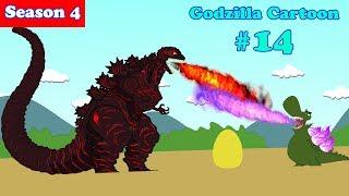 Godzilla, Shin Godzilla Dinosaur #14 - 30 Minutes Funny Cartoon Movie Animation 2018