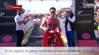 Resumen remontada Javier Gómez Noya Ironman 70.3 Dubai