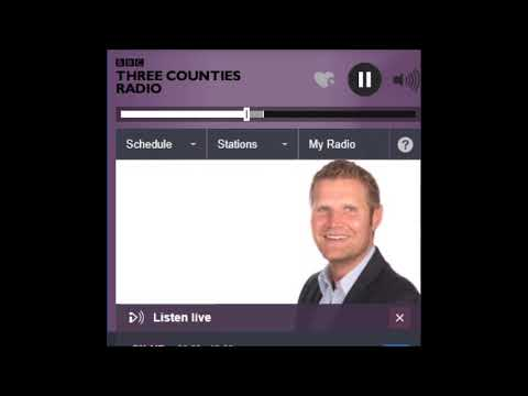 Colonel Kemp on 3 Counties Radio