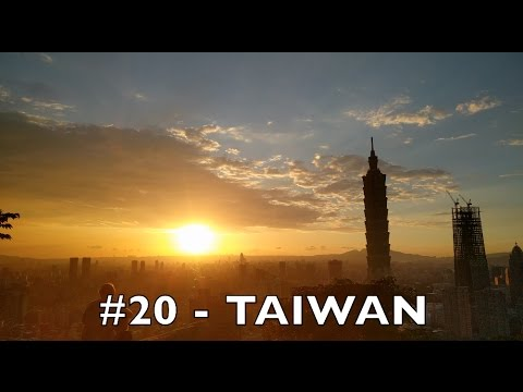 Welcome to TAIPEI, TAIWAN (#20 🇹🇼) - Tom goes to 100 countries in 4k UHD