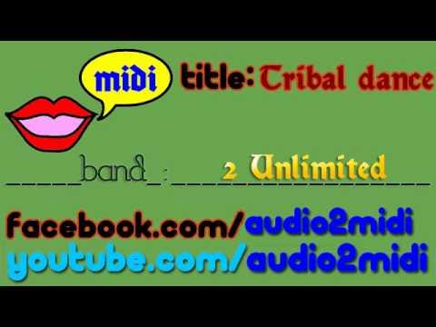 Tribal dance - 2 Unlimited [MIDI - Instrumental] Audio2Midi