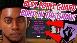 BEST POINT GUARD BUILD IN NBA 2K19! TAKEOVER BADGE WILL MAKE THIS BUILD TOO OVER POWERED!