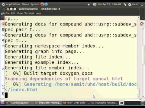 GNURADIO installation from source part-3 ( doing cmake for UHD)