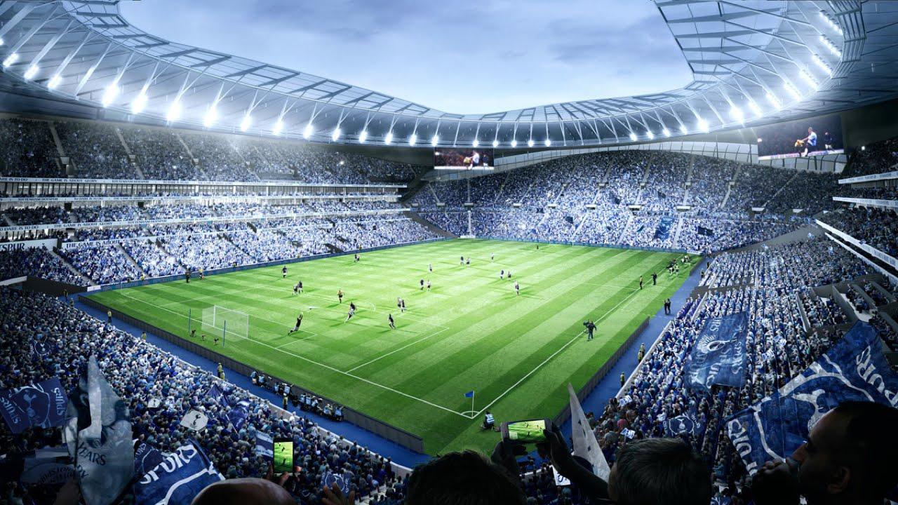 Tottenham Hotspur New Stadium - YouTube