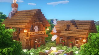 Minecraft: How to Build a 2-Player Starter Base | Simple Survival Base Tutorial