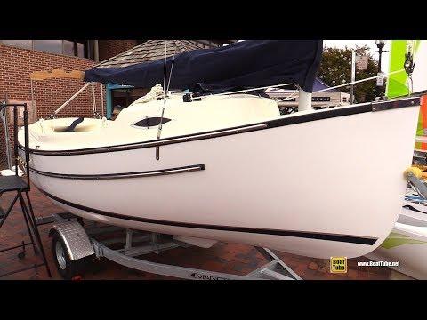 2017 Com-Pac Yachts SunDay Cat Sail Boat - Walkaround - 2017 Annapolis Sail Boat Show