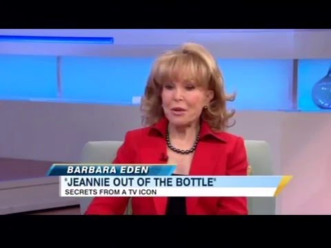 Barbara Eden talking about her Autobiography Book, I Dream of Jeannie