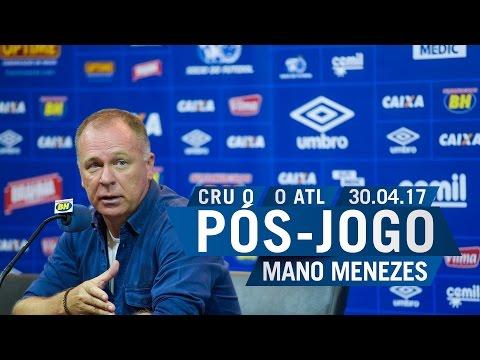 30/04/2017 - Pós-Jogo - Téc. Mano Menezes
