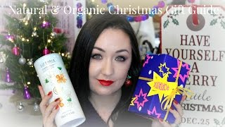 Natural and Organic Beauty Christmas Gift Guide Thumbnail