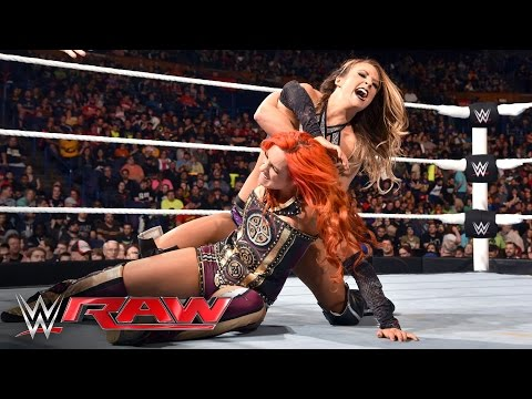 Becky Lynch vs. Emma: Raw, May 2, 2016