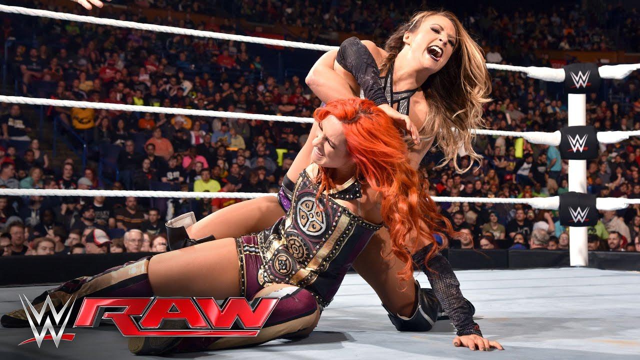 Becky lynch vs emma raw - 5 10