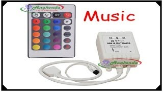 music sensitive controller remote key ir for rgb led strip 5050 3528