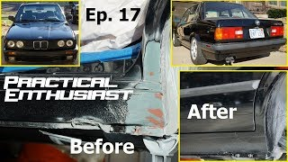 Project E30 / Ep. 17 / Paint Repair & First Drive