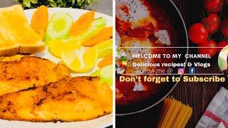 FN Vlog ukR216Italian Recipe Salman Fish Fryইটলয়ন ইসটইল সযলমন মছ ভজ
