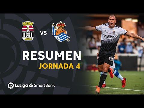 Cartagena R. Sociedad B Goals And Highlights