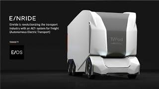Einride autonomous electric freight transportation