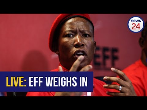 WATCH LIVE: EFF host media briefing following Zuma's resignation