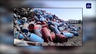 مسؤولون يؤكدون إتلاف اسطوانات الغاز الهندية ومطالب بتشديد إجراءات السلامة  - (1-9-2019)