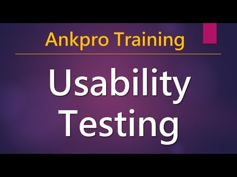 Manual testing 21 - What is Usability testing? How to do usability testing? Why usability testing?