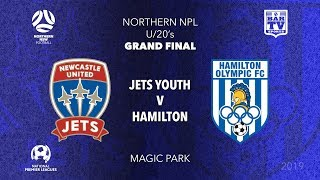 2019 NPL Northern NSW - Grand Final - U20's - Jets Youth v Hamilton