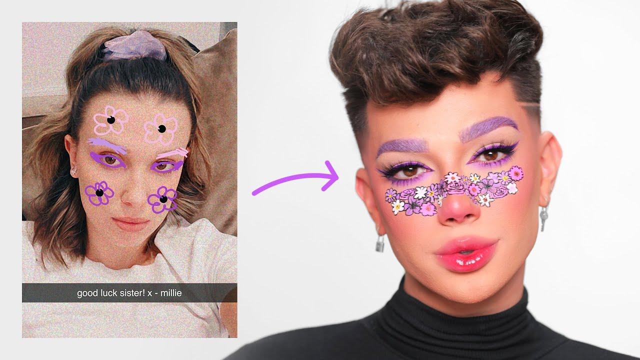 My Friends Draw My Makeup Looks!