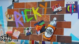 How to make a graffiti pinboard | CBBC