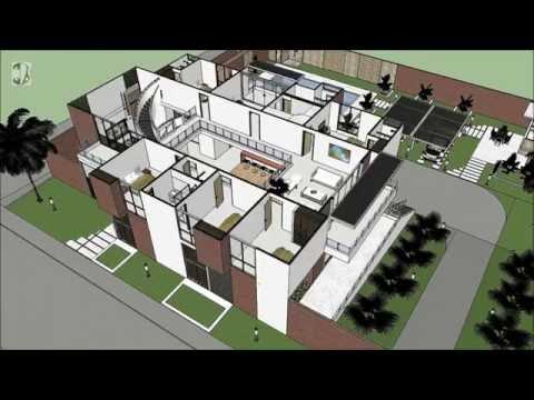 Casa Moderna Minimalista Interior 6m X 12 50m Doovi