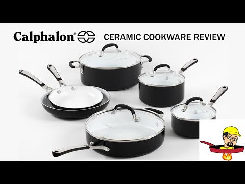 Calphalon Ceramic Cookware - PRODUCT REVIEW