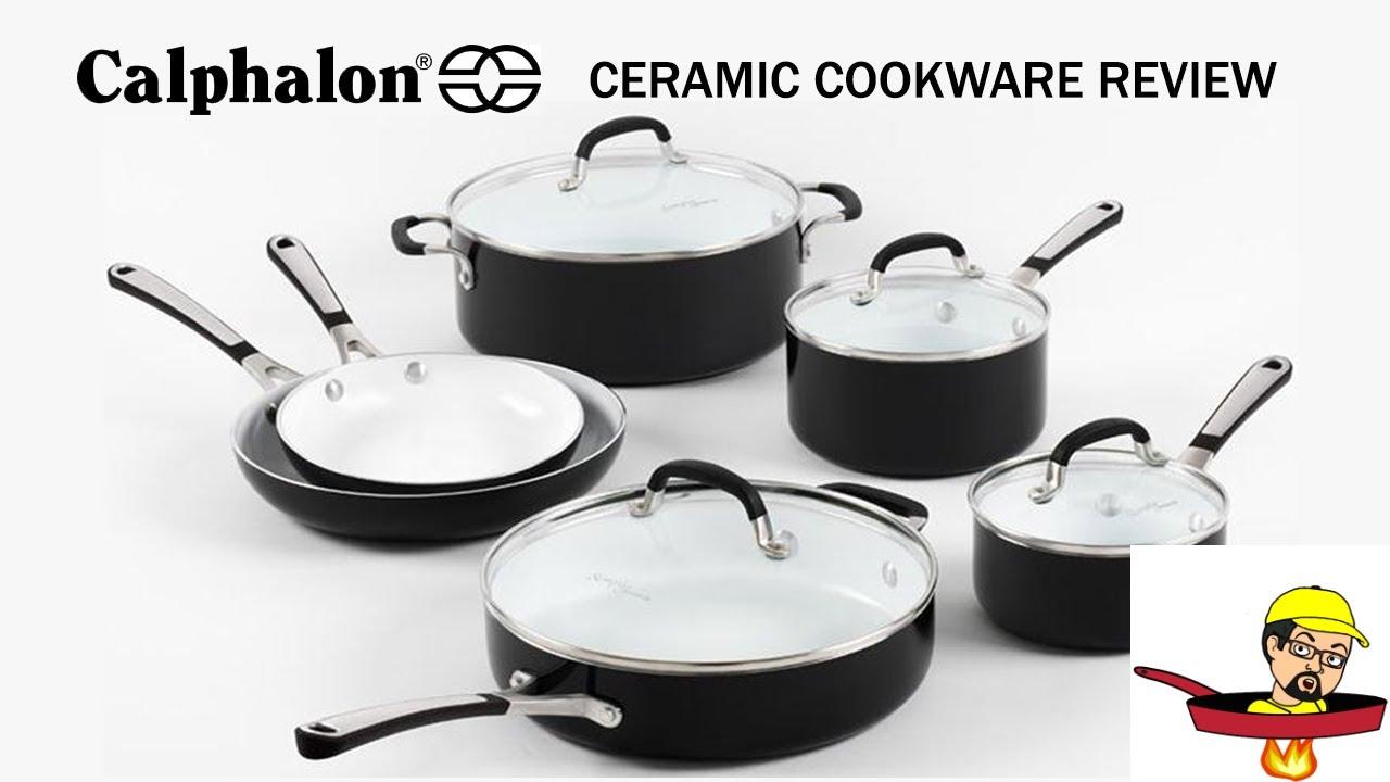 Calphalon Ceramic Cookware - PRODUCT REVIEW