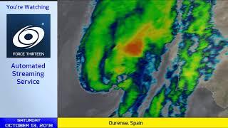Hurricane Leslie, Cyclone Luban Live Update - 1pm UTC Oct 13, 2018