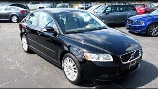 2009 Volvo S40 2.4i Walkaround, Start up, Tour and Overview