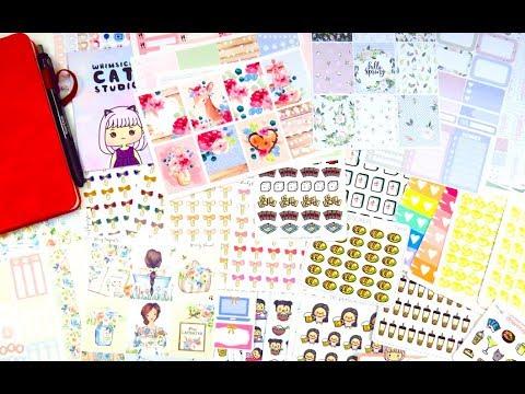 Planner Stickers & Bullet Journal Haul!