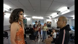 LGBT Drag Queen Rebuked by Dore Love with the spirit of Elijah on him | Bible Flock