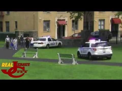 JCPD Det  Cesar Celestino fires shot in Lincoln Park, Jersey