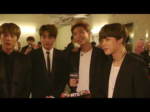 BTS INTERVIEW AFTER WINNING BILLBOARD MUSIC AWARDS